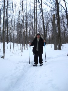 Snowshoeing at The Rosseau