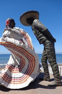 Dancers on the Malecon