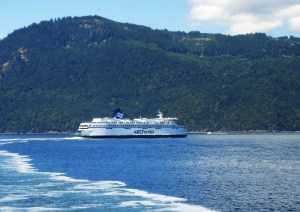 A majestic ferry to Salt Spring Island