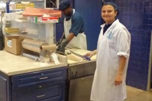 Pina's ready to custom cut Chilean sea bass