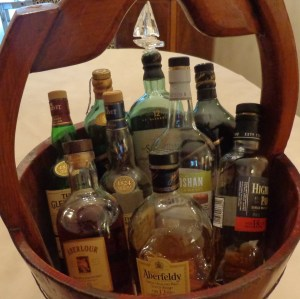The famous Scotch bucket