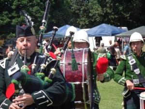 The Waterloo Bonfire Society Pipe and Drum Band