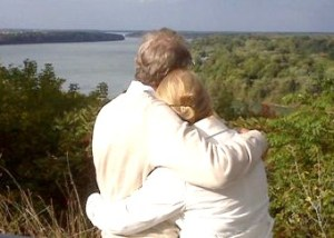 Overlooking the Niagara River